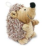 Ninkipet(ニンキペット)音の出るおもちゃ 噛むおもちゃ ペット用品 犬 おもちゃ ぬいぐるみ ストレス解消 運動不足 丈夫 耐久性 歯ぎしり 清潔 安全 (ハリネズミくん)