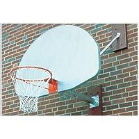 壁マウントバスケットボールBackstop w / Over Hang Over Hang長: 5 ft