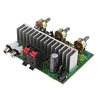Fenteer ステレオ アンプ ボード モジュール TDA7190 50W パワー オーディオ ステレオ