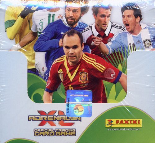 PANINI 2014 ブラジル ワールドカップ予選 サッカーカードゲーム アドレナリン XL 【輸入版】 BOX