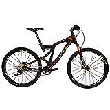 BEIOUカーボンデュアルサスペンションマウンテンバイク全地形27.5インチMTB 650BバイクSHIMANO DEORE 10スピード12.7kg T700フレームマット3K CB22