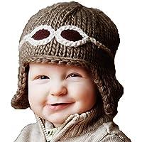 ブルーベリーヒル THE BLUEBERRY HILL ベビー 帽子 ニット帽 赤ちゃん ニット 帽子 パイロット アビエイター トープ