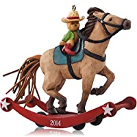 1 X A Pony For Christmas 17th In Series - 2014 Hallmark Keepsake Ornament 【Creative Arts】 [並行輸入品]