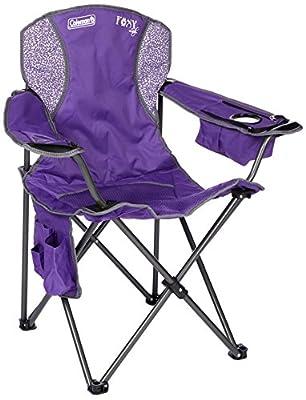 Coleman Quad Foxy Lady Chair, Purple