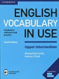 English Vocabulary in Use Upper-Intermediate Book with Answers and Enhanced eBook: Vocabulary Reference and Practice 画像