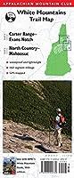 Appalachian Mountain Club White Mountains Trail Map: Carter Range - Evans Notch, North Country - Mahoosuc