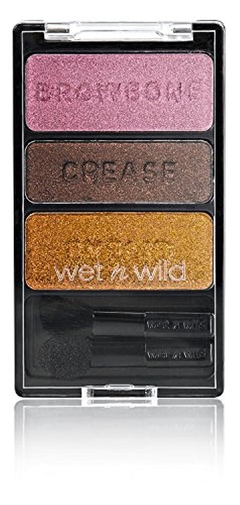受取人狂人コットンWET N WILD Color Icon Eyeshadow Trio I'm Getting Sunburned (並行輸入品)