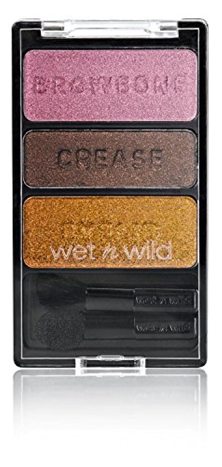 故意の失う元気WET N WILD Color Icon Eyeshadow Trio I'm Getting Sunburned (並行輸入品)