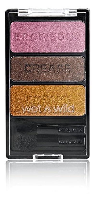ハイブリッドスマイル洞察力のあるWET N WILD Color Icon Eyeshadow Trio I'm Getting Sunburned (並行輸入品)