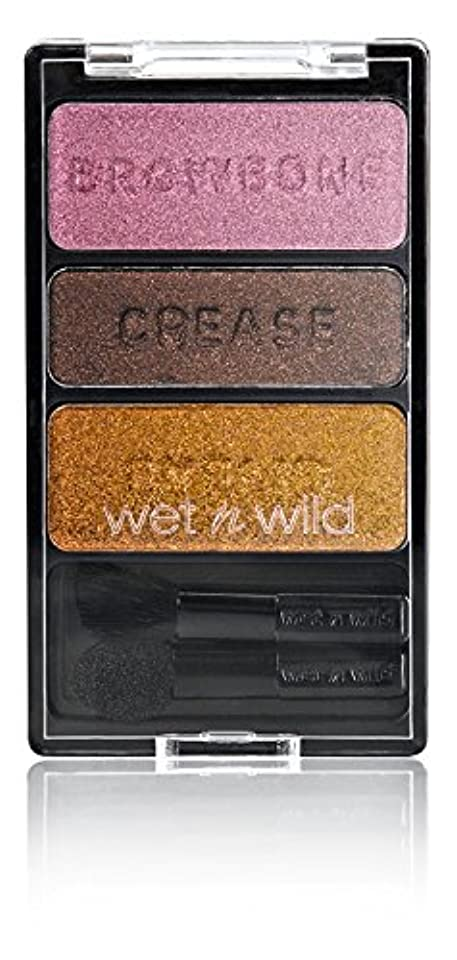 四回伝染性の追い払うWET N WILD Color Icon Eyeshadow Trio I'm Getting Sunburned (並行輸入品)
