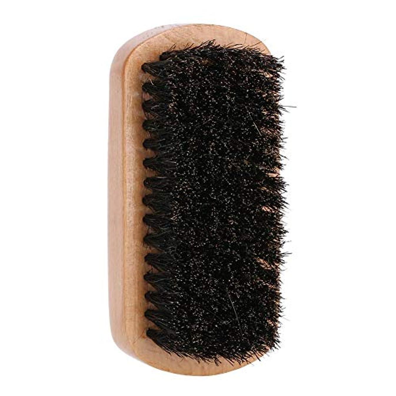 知るルー召喚するひげのブラシ、ひげのすべてのサイズそして様式のための整形式の表面マッサージの櫛をスタイリングする男性のブナの木製のひげの櫛のスタイリング、家および旅行Uesdのために完成しなさい
