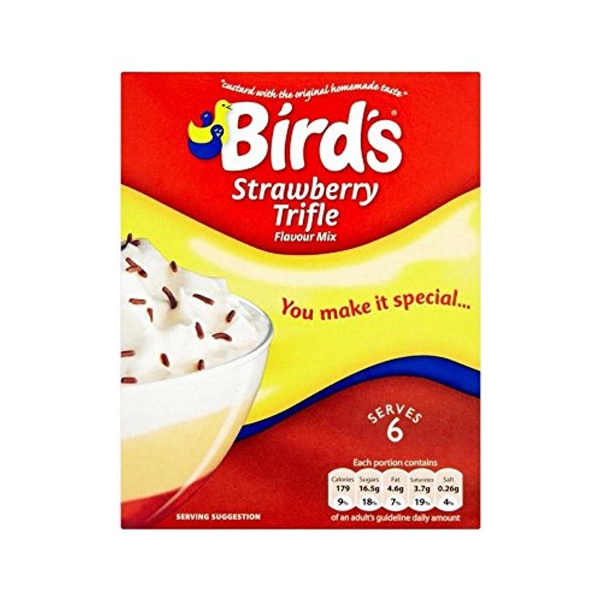 威する新聞大使些細な事ミックスイチゴ141グラム (Bird's) (x 2) - Bird's Trifle Mix Strawberry 141g (Pack of 2)