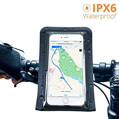 Satechi RideMate 自転車用スマートフォンホルダー Sony Xperia Z1/Z2/ZL2/ Sharp Aquos Zeta/Serie/ Fujit...