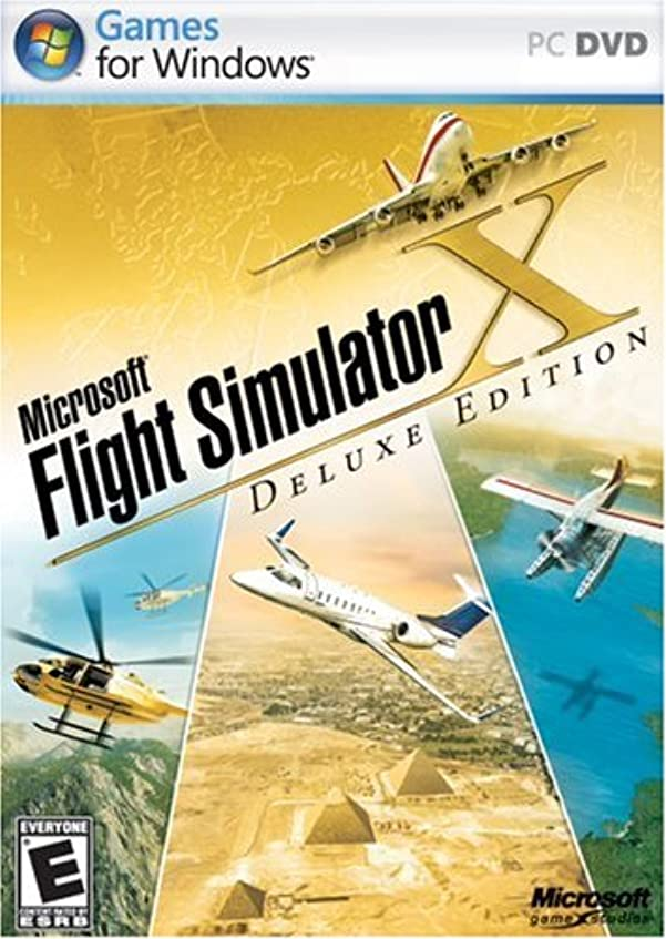 怖い憲法名義でMicrosoft Flight Simulator X Deluxe (輸入版)