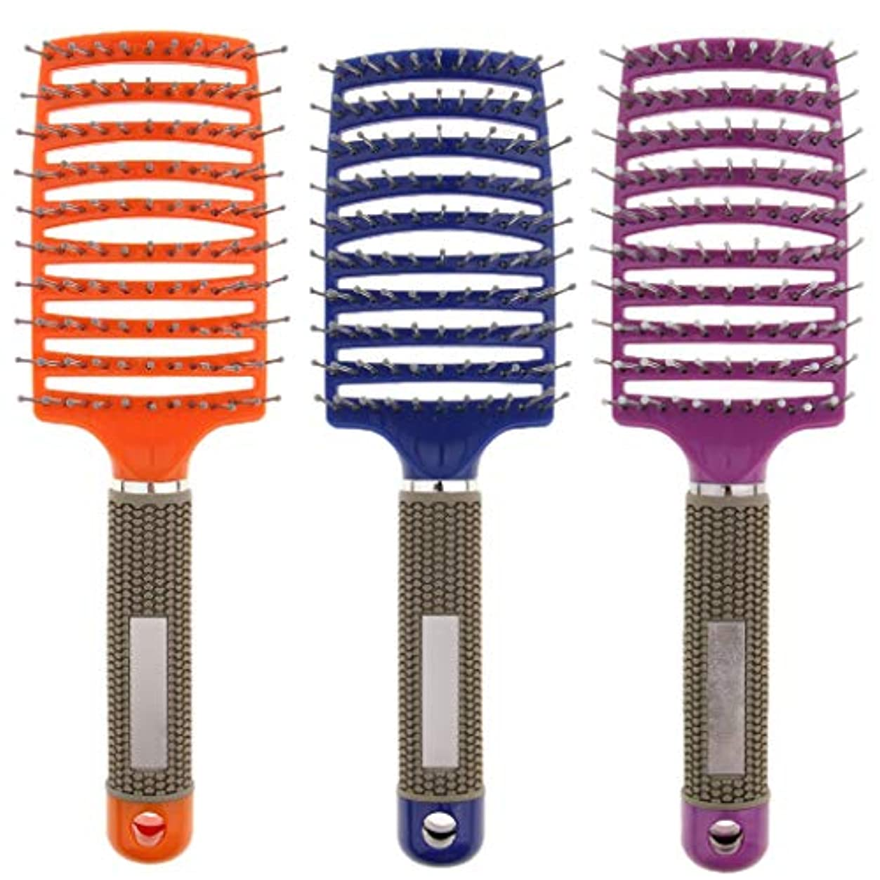 必須熟練した時折B Baosity 3本 ヘアコーム マッサージくし ヘアブラシ 通気櫛 コーム 美髪 ヘアサロン 自宅用