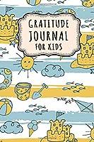 Gratitude Journal for Kids: Beach Daily Gratitude Journal for Kids | Undated 100 Days | 6 x 9
