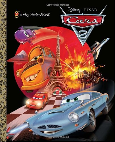 Cars 2 Big Golden Book (Disney/Pixar Cars 2)