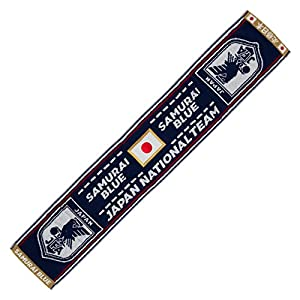 JFA サッカー日本代表 2018年 タオルマフラー 今治ブランド認定タオル (日の丸) O-296