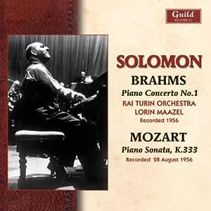 Solomon Plays Brahms & Mozart