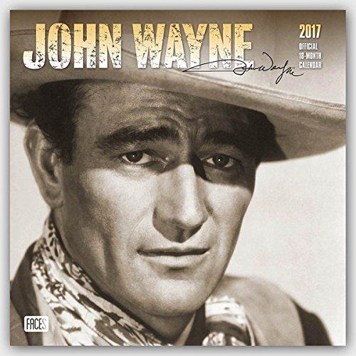 John Wayne Official 2017 Calendar (Square Wall)