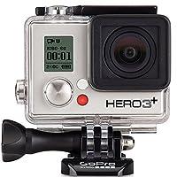 GoPro HERO3+ Silver Edition Camera (Built-in Wi-Fi 1080p Movie 10MP Photo Waterproof to 131') (Certified Refurbished) [並行輸入品]