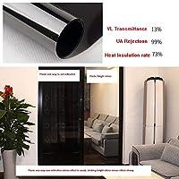OUPAI 窓フィルム 窓用フィルム、片方向ミラーフィルム非粘着性静的粘着粘着熱制御日焼け止めグレア低減抗UV窓の色合い取り外し可能3個59×39インチ ガラスフィルム (Size : 28 × 39inch)