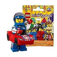レゴ(LEGO) ミニフィギュアシリーズ 18 レースカーマン【未開封】| LEGO Collectable Minifigures Series 18 Race Car Guy 【71021-13】