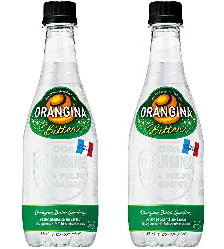 炭酸飲料 オランジーナ ビタースパークリング サントリー 450ml 48本 (2ケース)