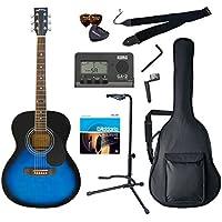 Sepia Crue アコースティックギター Amazonオリジナル10点セット フォークタイプ FG-10/BLS ブルーサンバースト