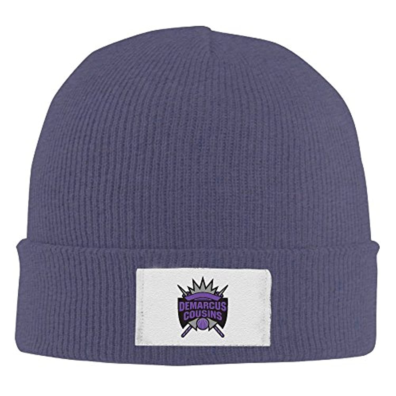 ニット帽 デマーカスカズンズ サクラメントキングス 15 キャップ ウォッチキャップ 男女兼用 帽子 防風 防寒 フリーサイズ Black