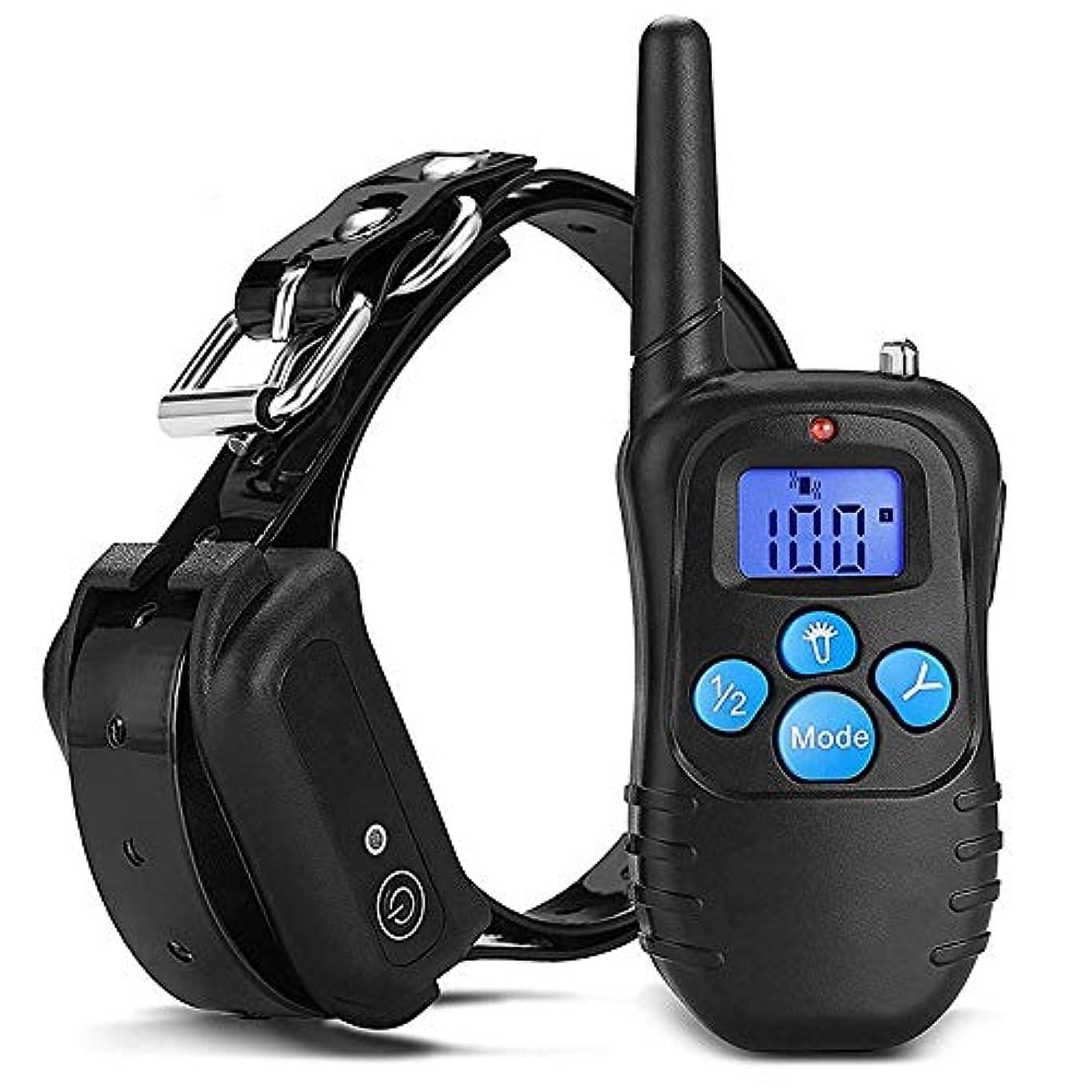 抑止する怒り目の前のJiabei 300 /防水リモートコントロール犬の訓練のデバイスペットいびきデバイストレーニング犬のデバイスをm個 (色 : As-picture)
