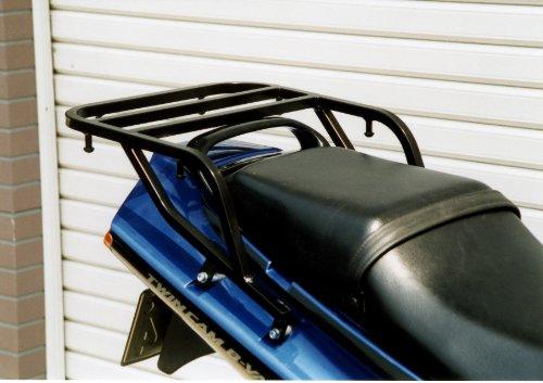 ライディングスポット(RIDING SPOT) リアキャリア スチール製 348×160mm ブラック ZZR250