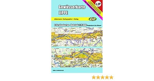 Gewässerkarte Lippe