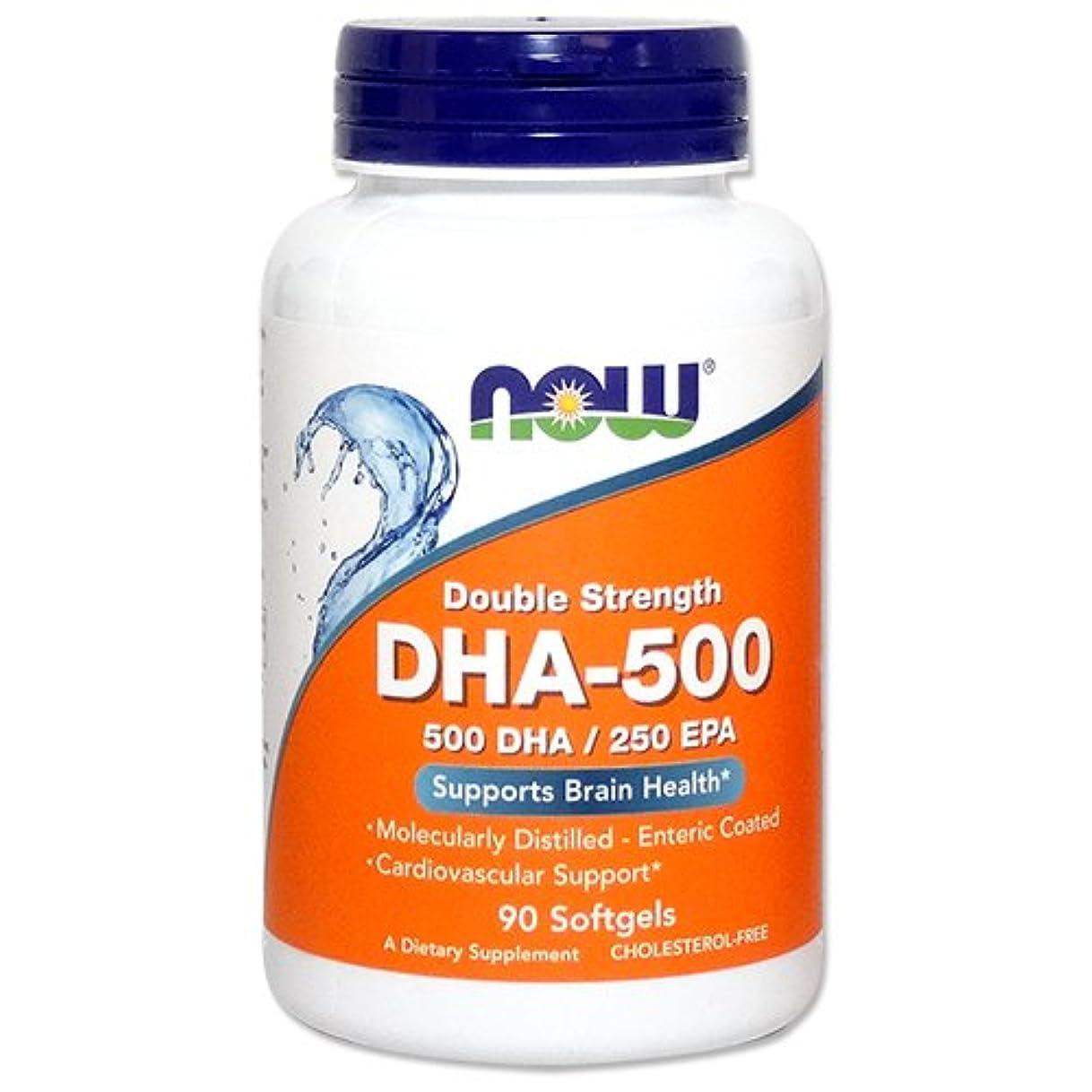 拮抗する修正勃起[海外直送品] ナウフーズ   高含有DHA-500 90粒