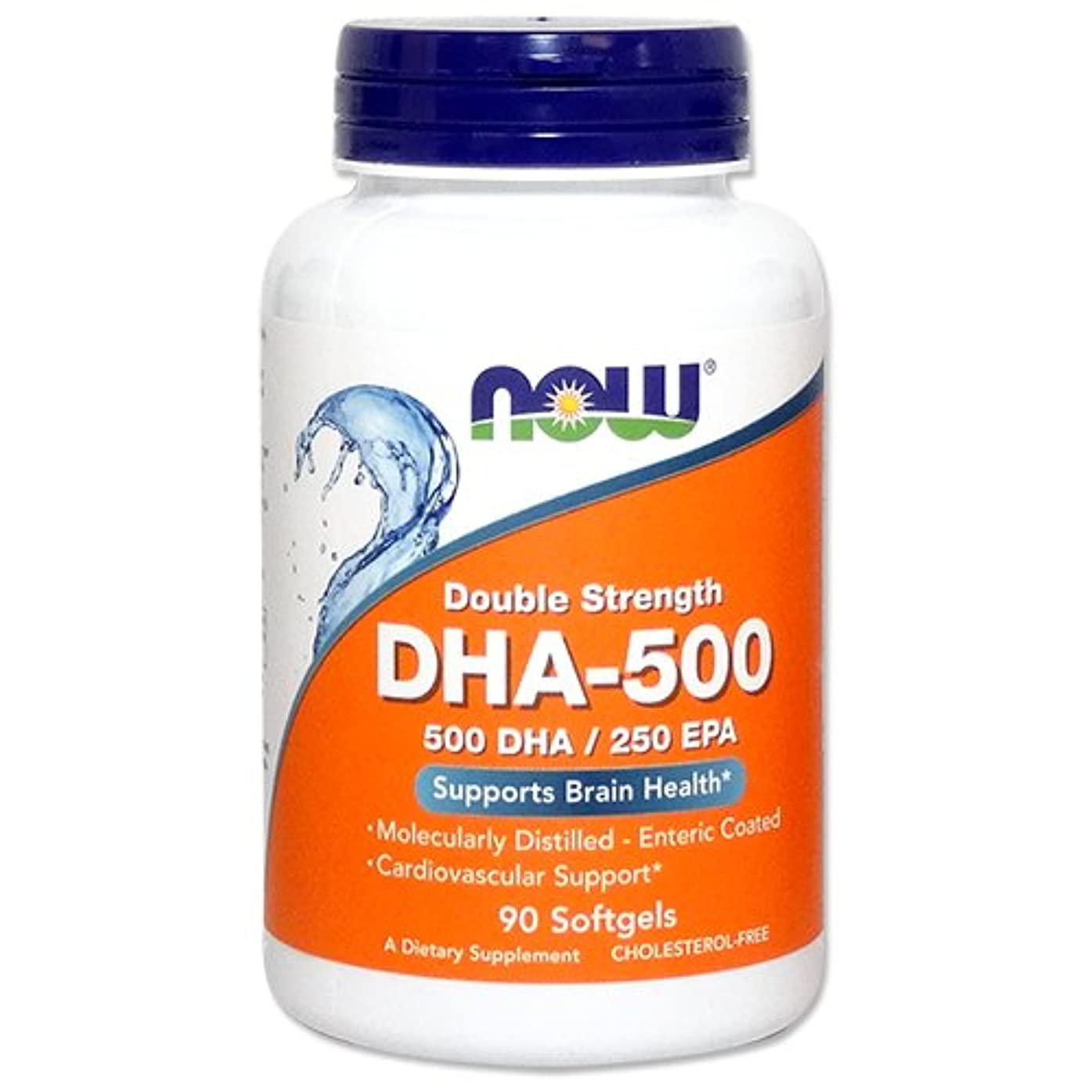 小麦価値復活[海外直送品] ナウフーズ   高含有DHA-500 90粒