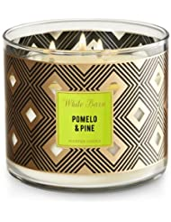 Bath and Body WorksホワイトバーンCandle Pomelo and Pine