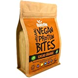BodyMe Organic Vegan Protein Bites | Raw Cacao Orange | 500g (100 Bites) | With 3 Plant Proteins