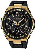 Casio腕時計G - Shock g-steel世界6局対応するソーラーラジオgst-w100g-1ajfメンズ