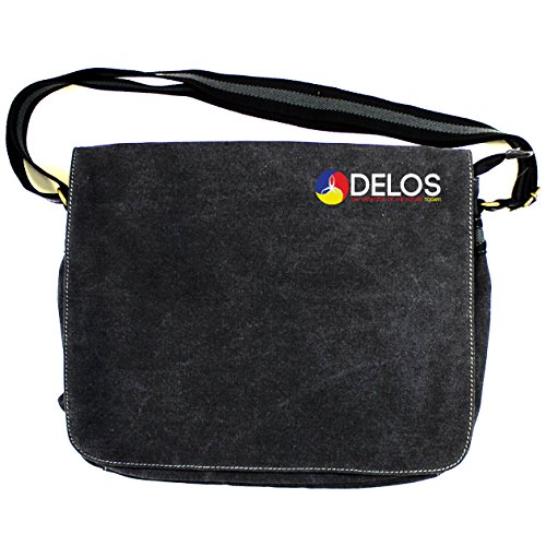 Westworld : DelosビンテージキャンバスDespatch Bag One Size Fits All ブラック