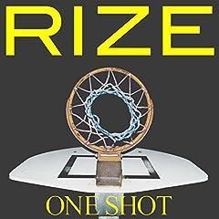 RIZE「ONE SHOT」のCDジャケット