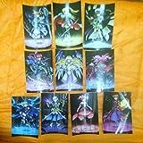 全10種 劇場版 魔法少女 リリカル なのは Reflection 入場者特典 ステッカー リフレクション フェイト はやて イリス ユーリ キリエ レア