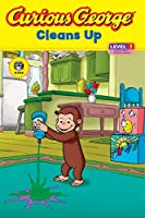 Curious George Cleans Up (CGTV Reader)