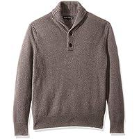 J.Crew Mercantile Men's Lambswool-Nylon Shawl Collar Sweater