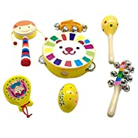 TambourineドラムベルPercussion Instrument Musical Toy for KTVパーティー子供ゲーム、# e16