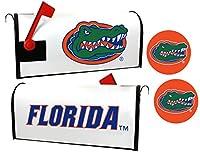 Florida Gators磁気メールボックスカバー&ステッカーセット