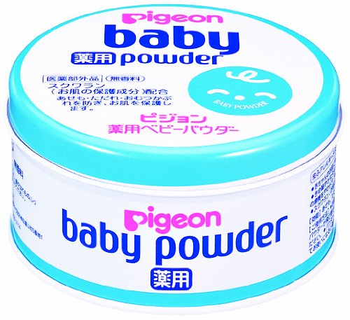 ベビーパウダー 薬用・ブルー缶 150g
