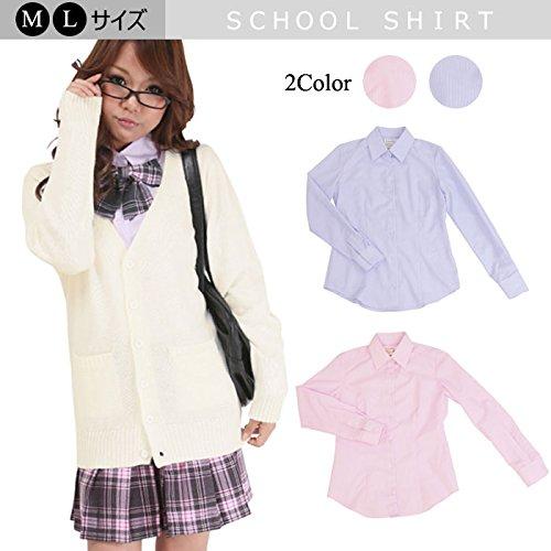 【カラー:ピンク/Lサイズ】≪School costume≫...