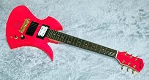 BURNY バーニー ミニエレキギター ZO-3 SP-JR. Shocking Pink アンプ内蔵