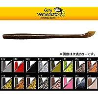 ゲーリーヤマモト(Gary YAMAMOTO) 6.5インチ カットテールワーム 186(パンプキン/ブラックフレーク)