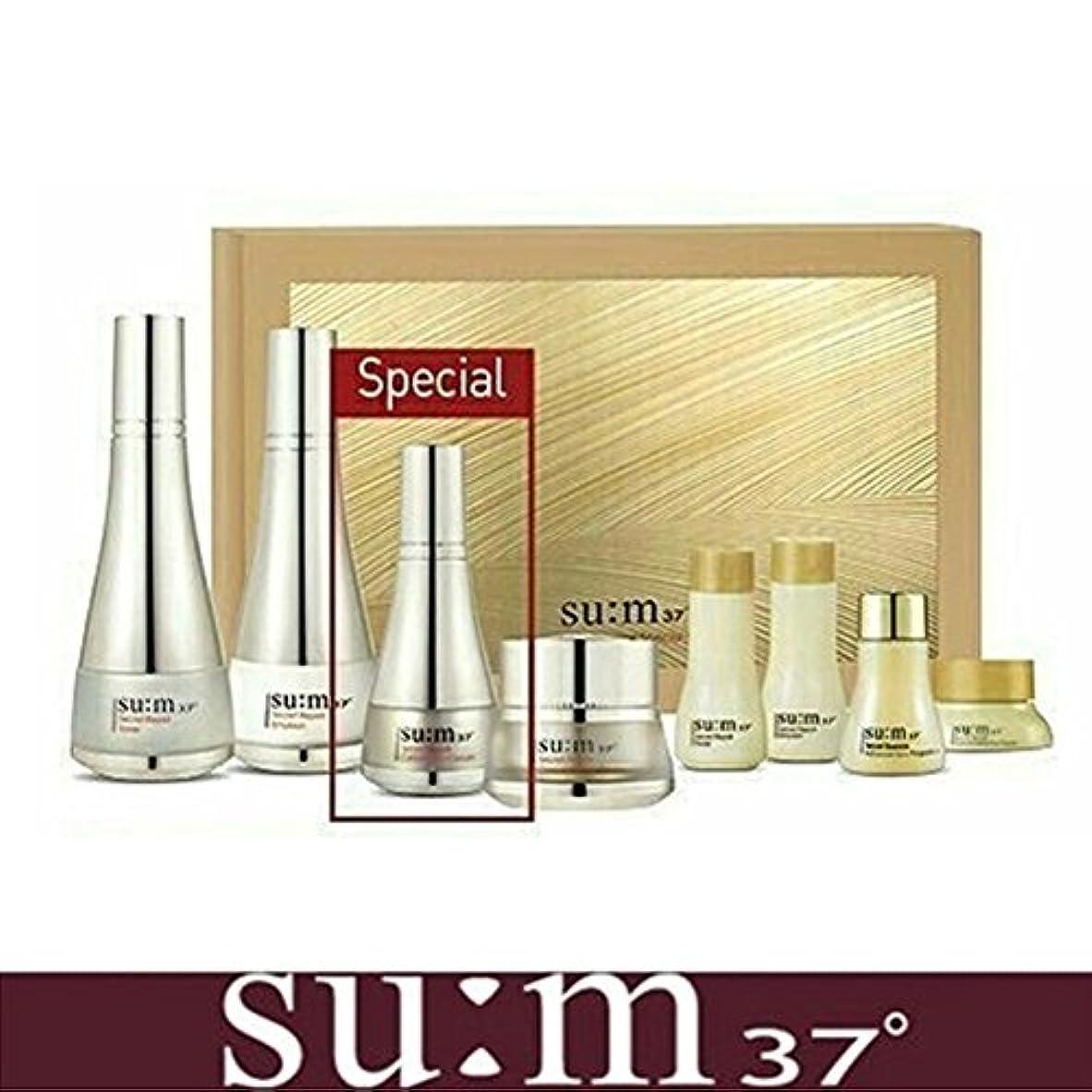 折り目抑圧する論理的[su:m37/スム37°] SUM37 Secret Repair 3pcs Special Skincare Set / シークレットリペア3種セット+[Sample Gift](海外直送品)